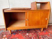 Danish Modern Style Teak Telephone Bench