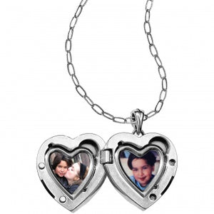 JL9171 Call To Love Heart Double Locket