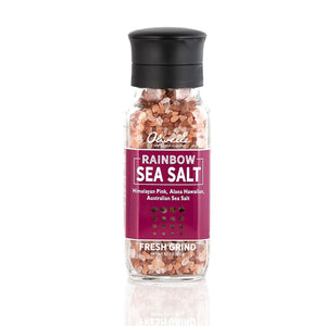 Rainbow Sea Salt Mix (Alaea, Himalayan, Aus.)