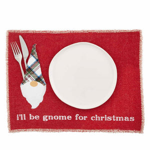 Red Gnome Place Mat