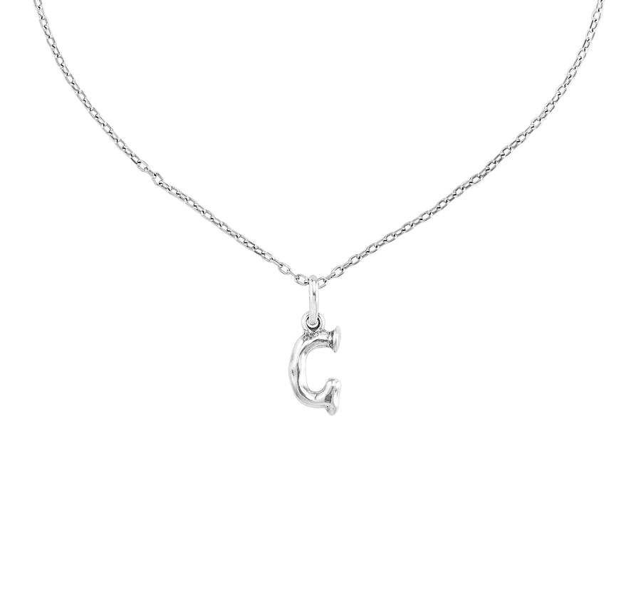 Charm Small G - Silver