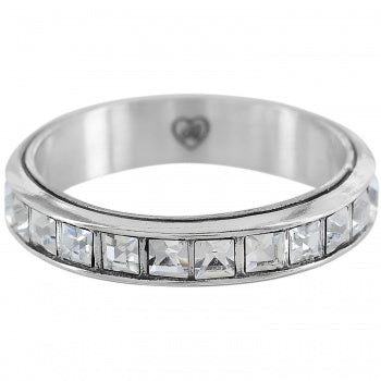 J6119K Silver Eternal Stack Ring - 9