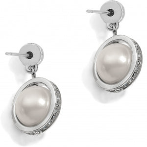 JA5191 Chara Ellipse Spin Post Drop Earrings