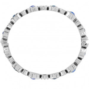 JF3813    Halo Burst Hinged Bangle