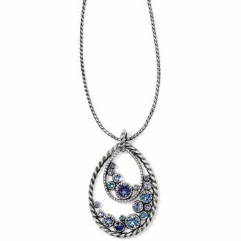 JL4633 Halo Convertible Long Necklace
