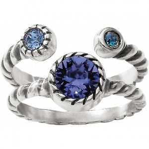 J62453 Halo Duo Ring - 9
