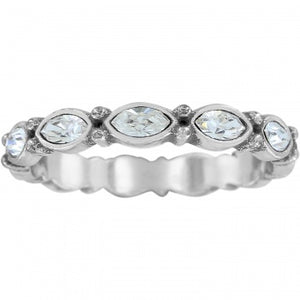 J6118K Silver Scalloped Stack - 8