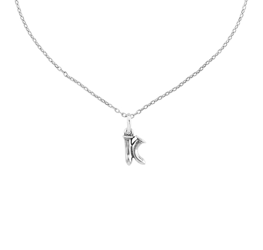 Charm Small K - Silver