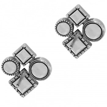 JA5523 Halo Aurora Post Earrings
