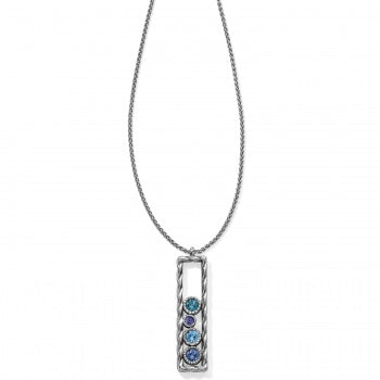 JL7143 Halo Rhythm Long Necklace