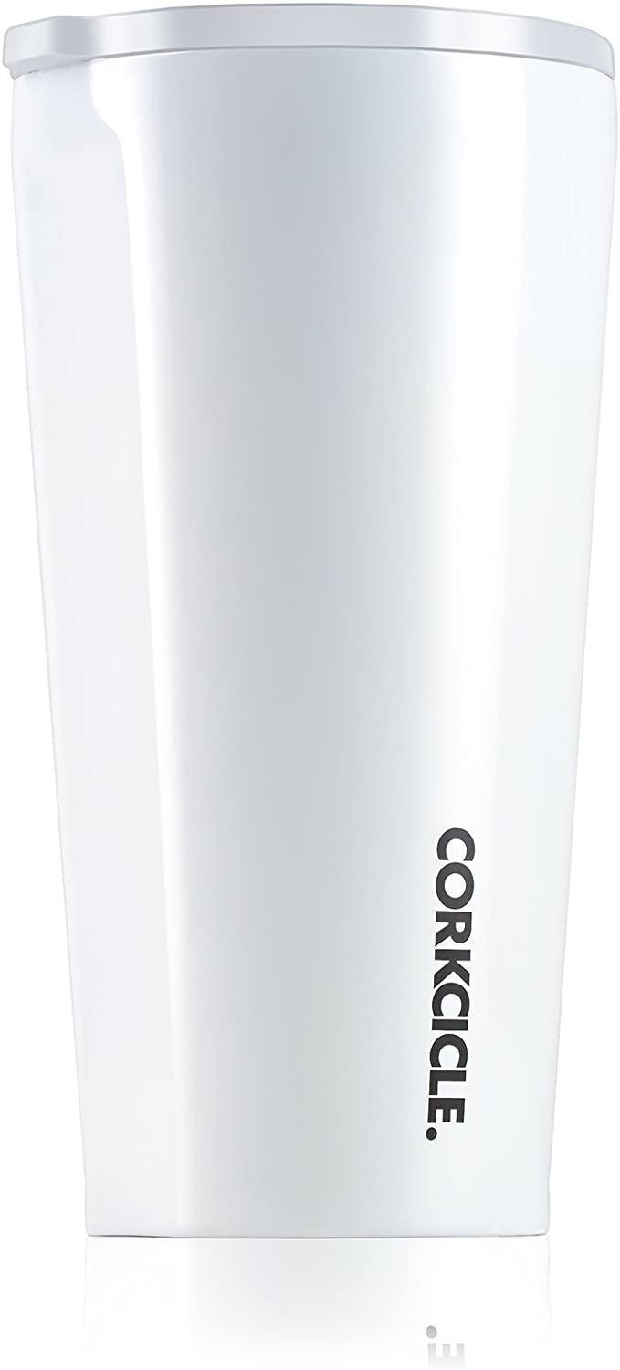 Tumbler 16oz Dipped Modernist White