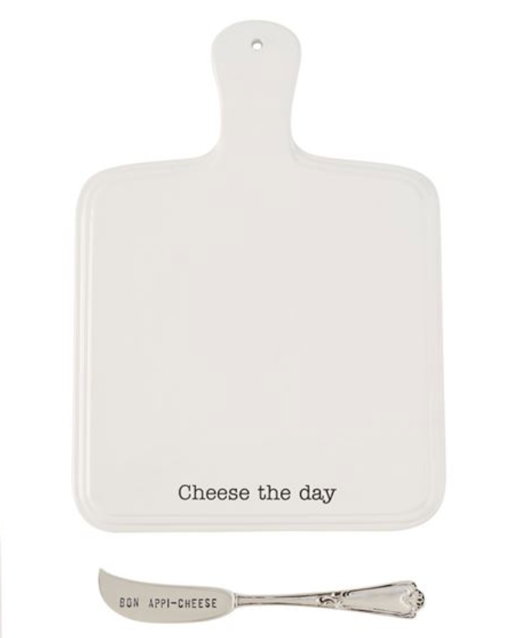 Cheese The Day Cutting Board Set