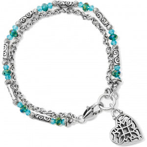 JF658C Gleam On Heart Light Bracelet