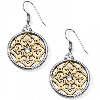 JA6122 Indian Souvenir French Wire Earrings