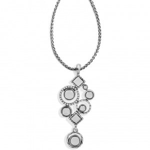 JM1173 Halo Aurora Drop Necklace