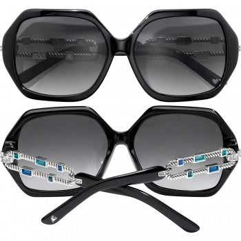A12783 Moderna Black Sunglasses