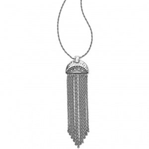 JM0700 Africa Stories Chain Fringe Necklace