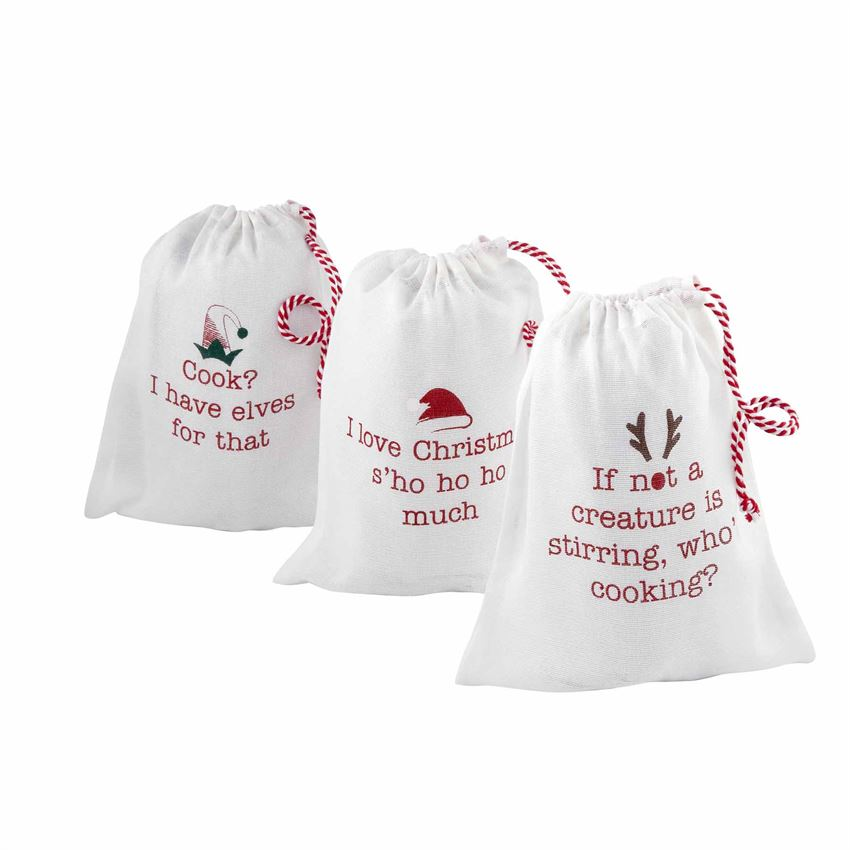 Creature Christmas Apron In Bag