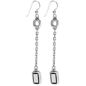JA6893 Emilie Drop French Wire Earring