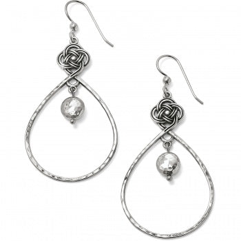 JA4950 Interlok Knot French Wire Earrings