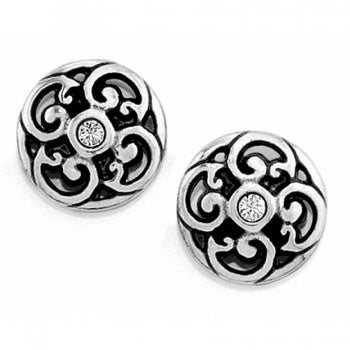 J20822 Silver Betsey Mini Post Earrings