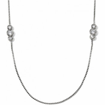 JL5351 Infinity Sparkle Long Necklace