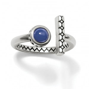 J62712 Marrakesh Mirage Blue Ring - 9