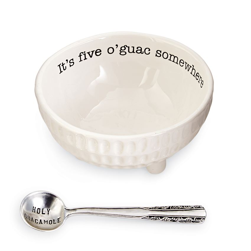 Five O'Guac Dip Cup Set
