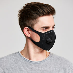 WAVE ADULT MASK WITH VALVE