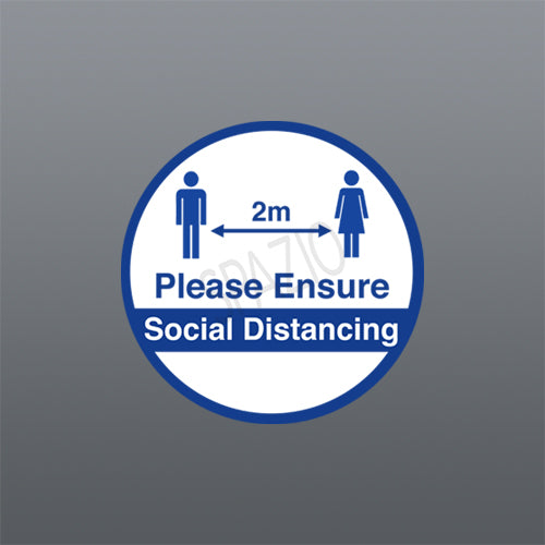 PLEASE ENSURE SOCIAL DISTANCING