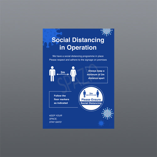 SOCIAL DISTANCING IN OPERATION A3