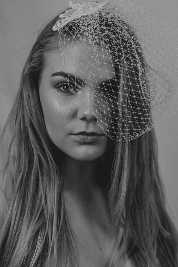 French Netting Birdcage Veil