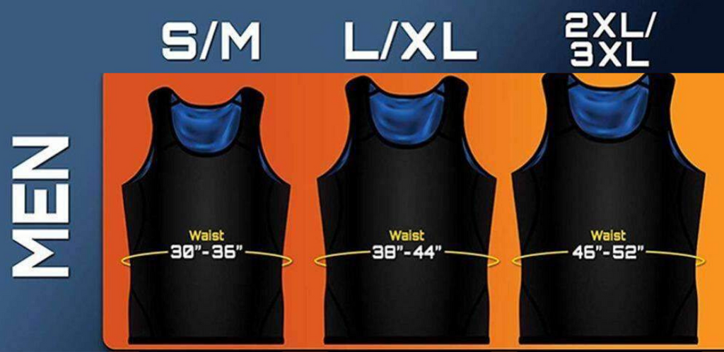 Sweat Body Shaper For Men