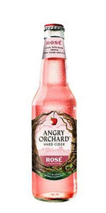 ANGRY ORCHARD ROSE CIDER WITH HIBISCUS