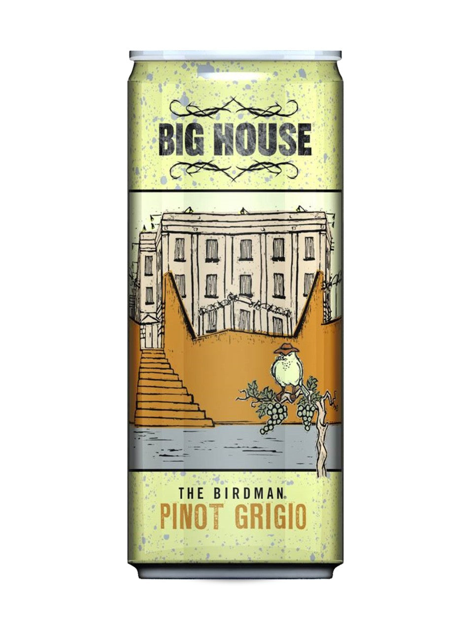 BIG HOUSE PINOT GRIGIO CAN 250ml