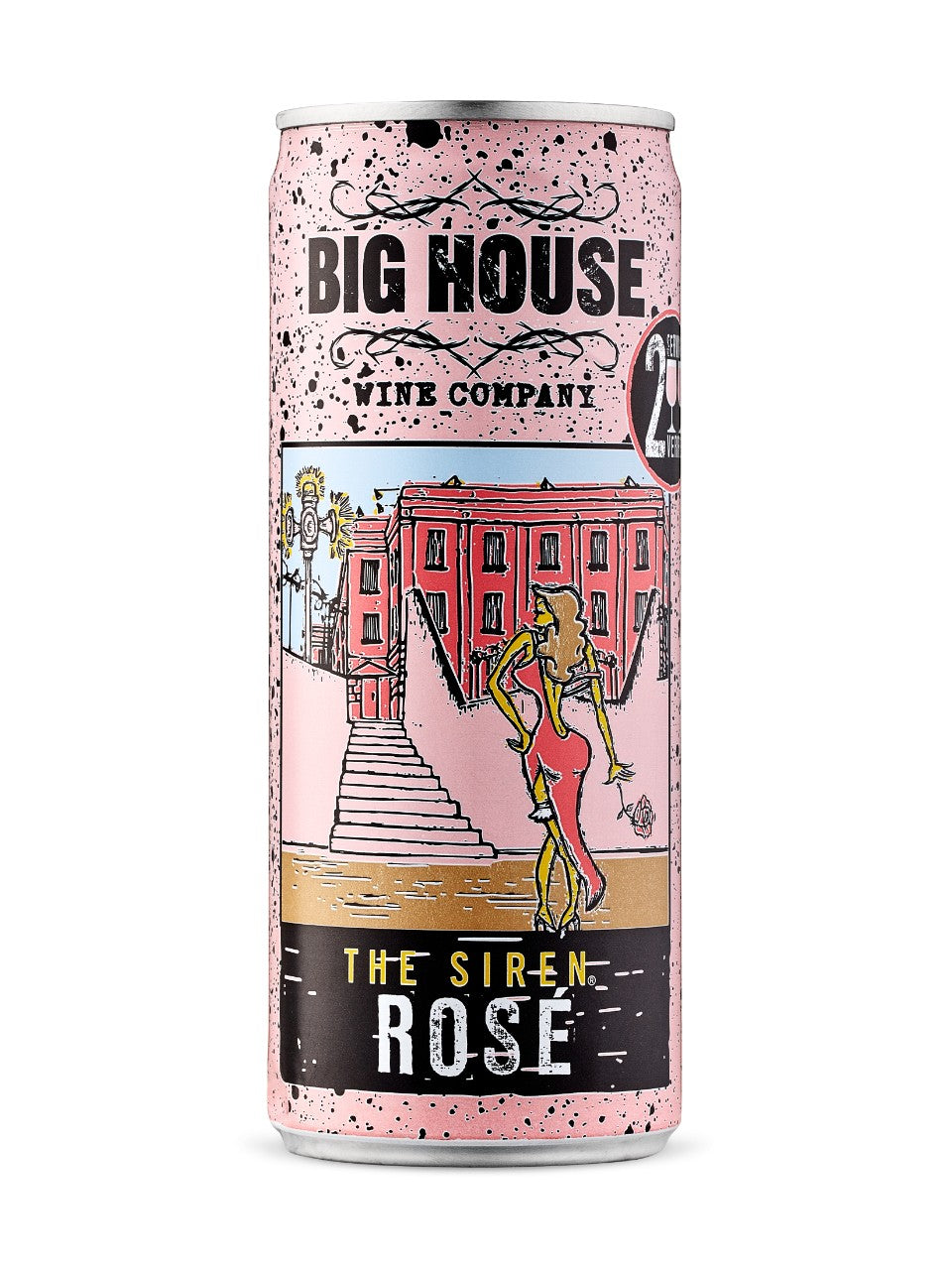 BIG HOUSE THE SIREN ROSE CAN 250ml