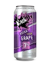 BLACK FLY VODKA SOUR GRAPE 473ml
