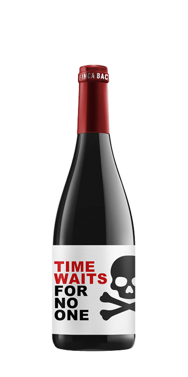 TIME WAITS FOR NO ONE TWO SKULLS 750ml