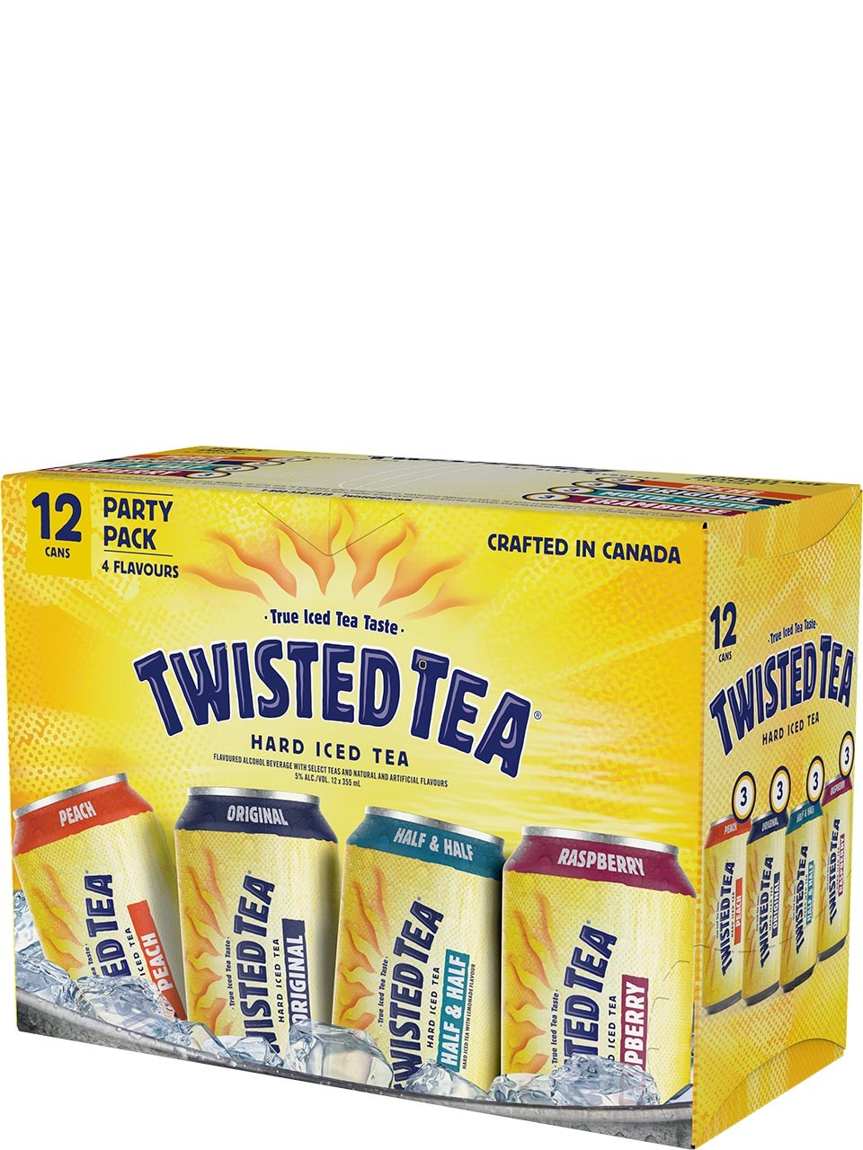 TWISTED TEA PARTY PACK 4260ml