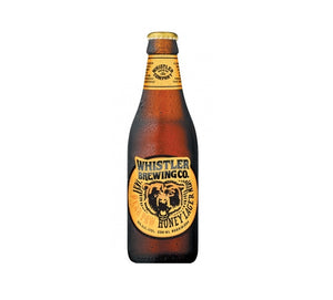 WHISTLER BREWING BEAR PAW HONEY LAGER