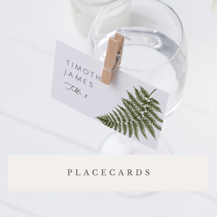 On The Day Stationery Place Cards