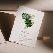 Zuri Tropical Save the Date - MakeMeDigital