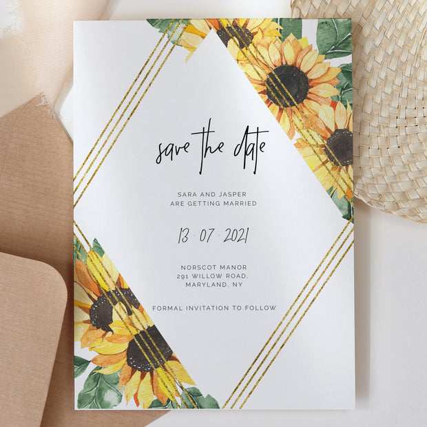 SUNNY | Wedding Save the Date - MakeMeDigital