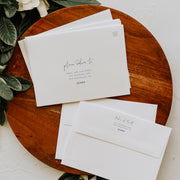 Elegant Envelope Addressing Template