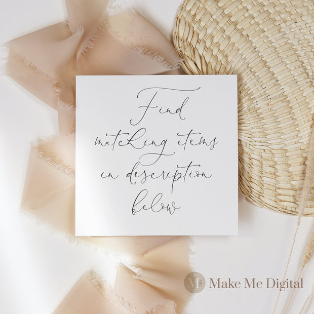 FRIDA | Elegant Gift Card Voucher - Make Me Digital: printable event invitations, party games & decor