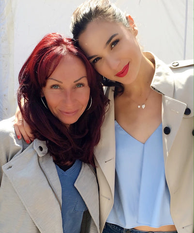 Gal Gadot and MUA