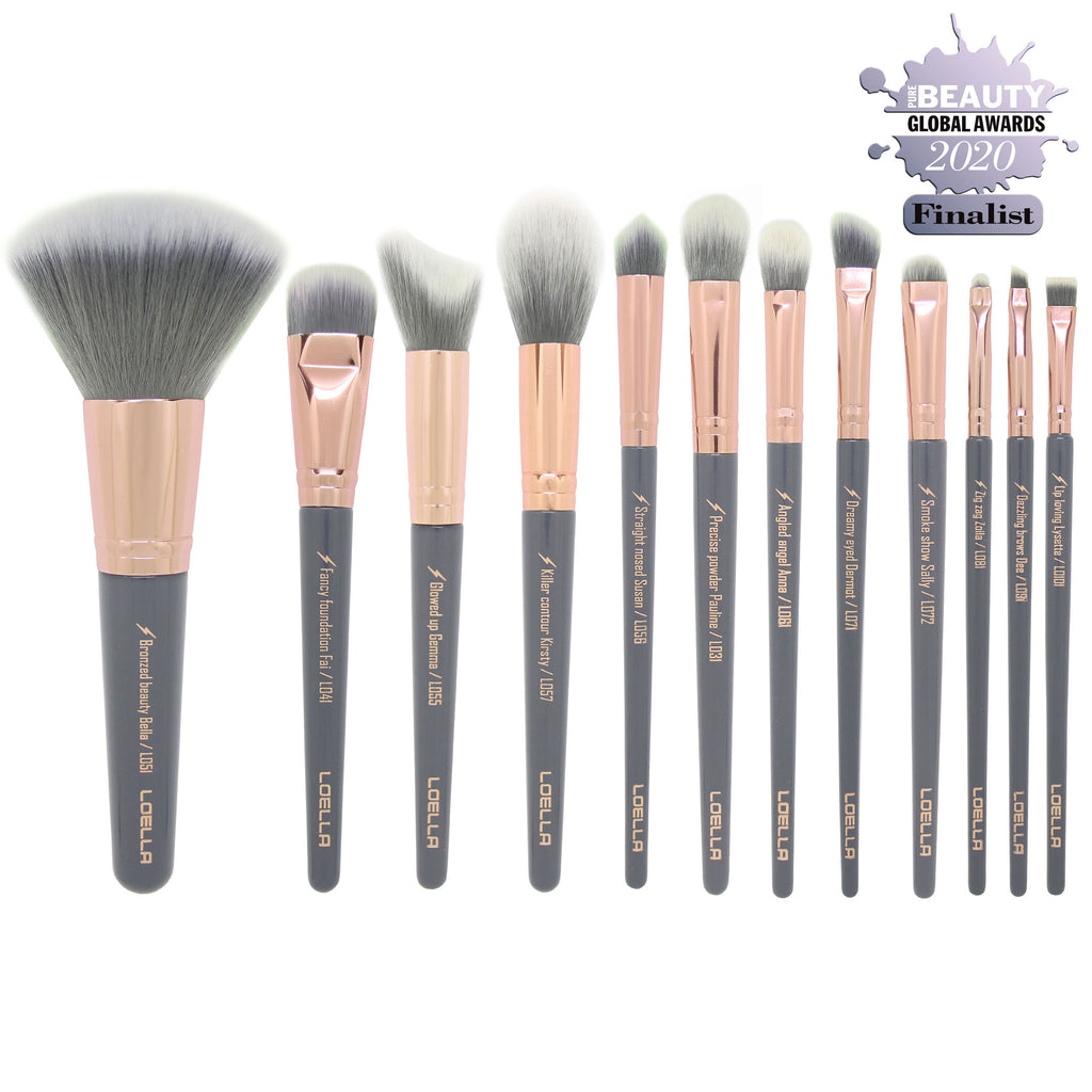 Professional makeup brush set | Femme Fatale collection