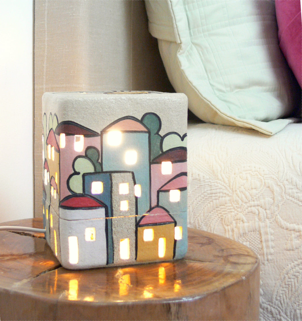 Table lamp cube