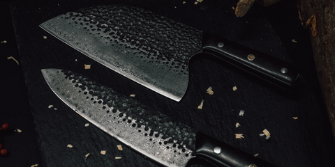 ONYX Series. Damascus Steel Knives.