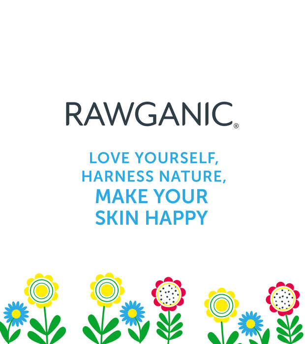 RAWGANIC Biodegradable Organic Cotton Baby Wipes (large pack with 50 wipes)
